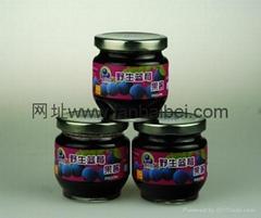 藍百蓓野生藍莓果醬