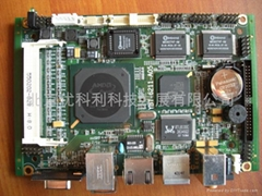 Embedded terminal motherboard
