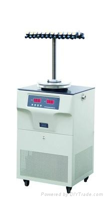 T-type Branch Manifold Vacuum Freeze Dryer  2