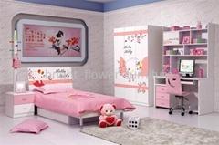 Children Bedroom Set Color Teenager's Bedroom Furniture Sets/Bedroom F
