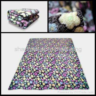 Coral fleece blanket  1