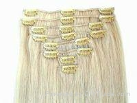 Top quality clips in remi hair extension