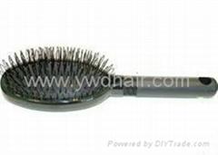 Hair extension loop brush /bristle brush