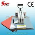 CE Approved swing head heat pringting