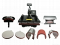 STC multifunction combo 8in1 heat press machine