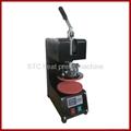 Digital dish heat press machine
