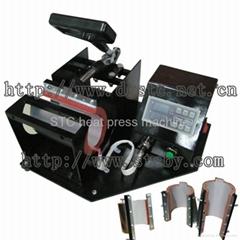 Digital mug photo heat press machine