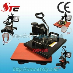 STC multifunction combo heat press machine