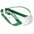 Helmet chin strap
