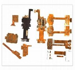 FPC flexible circuit boards (mobile phone key-press FPC)