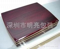 鋼琴漆實木盒