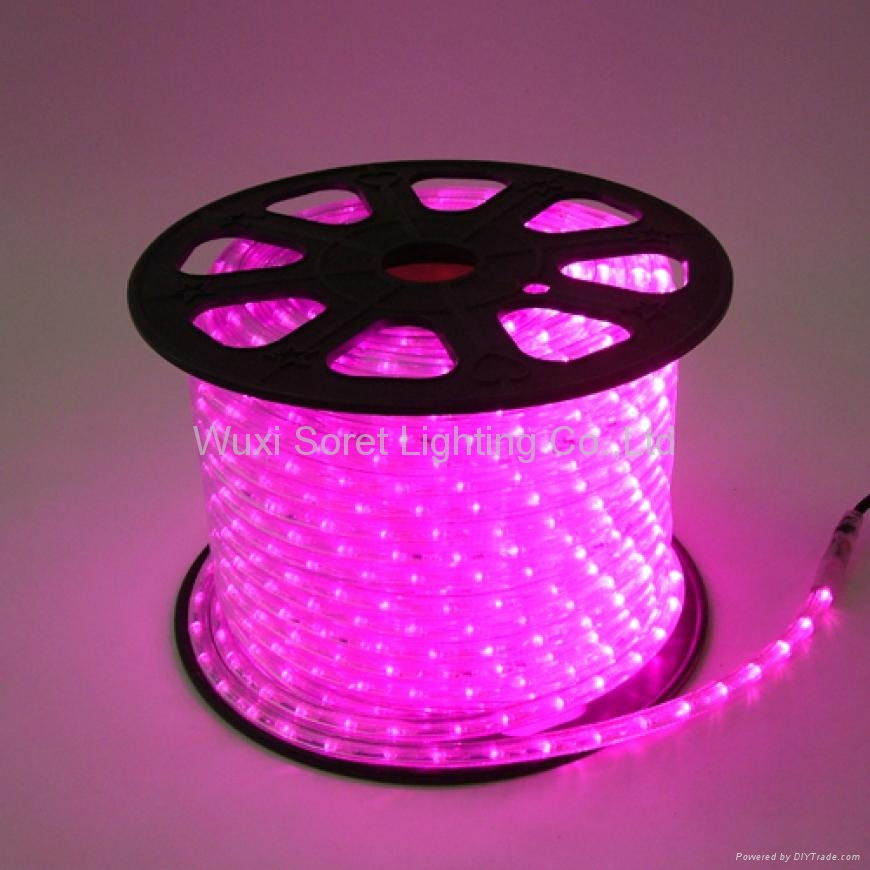 Led rope light cute color pink soret china led lighting led rope light cute color pink 1 aloadofball Images