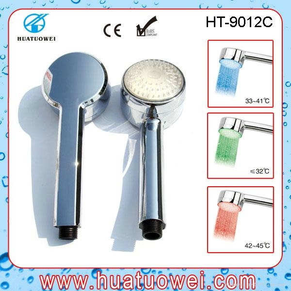 led temperatture controlling bath shower head 5