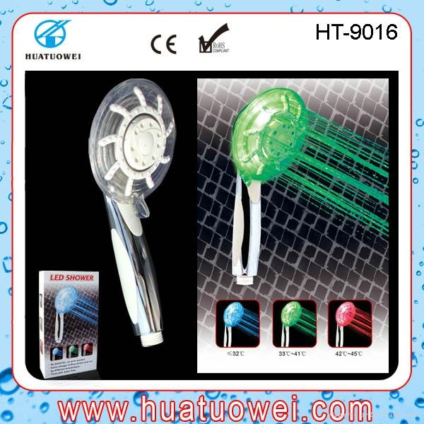 Adjustable led rainfall home or hotel bathroom shower head 1