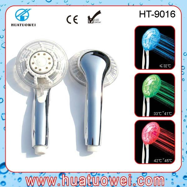 Adjustable led rainfall home or hotel bathroom shower head 5