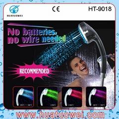 led telephone bathroom hand rainfall shower