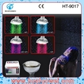 Colorful led ceiling bathroom shower head 4
