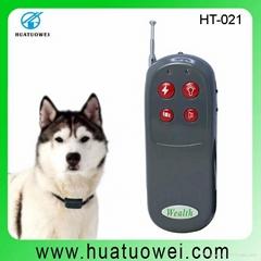 Best quality plastic dog shock collar (HT-021)