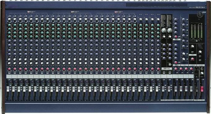 32 Channels Dj Console Mg32 14fx Rf Stage China