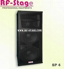 "Dual 15"" PA speaker"