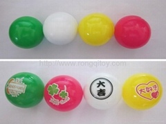 Rubber high bouncing ball