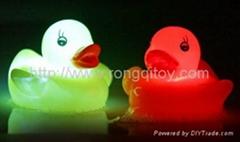 Flashing duck