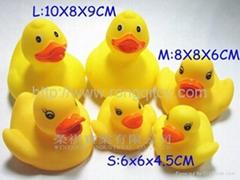 Yellow duck three sizes