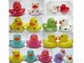 环保塑胶鸭子