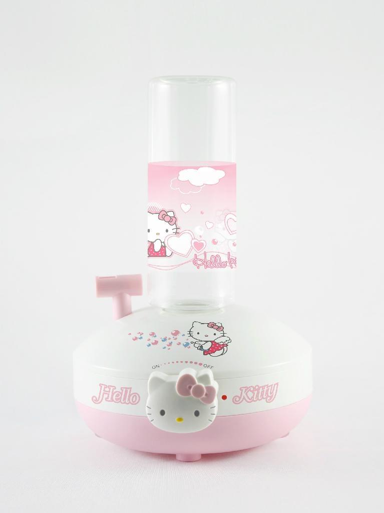 粉色超個性可愛hello kitty加濕器  1