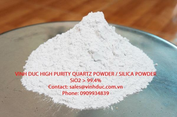 High Purity Quartz Sand SiO2>99.4%