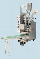 automatic tea bag packing with label