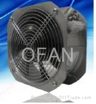 DC Axial Flow Fans for BTS rooms