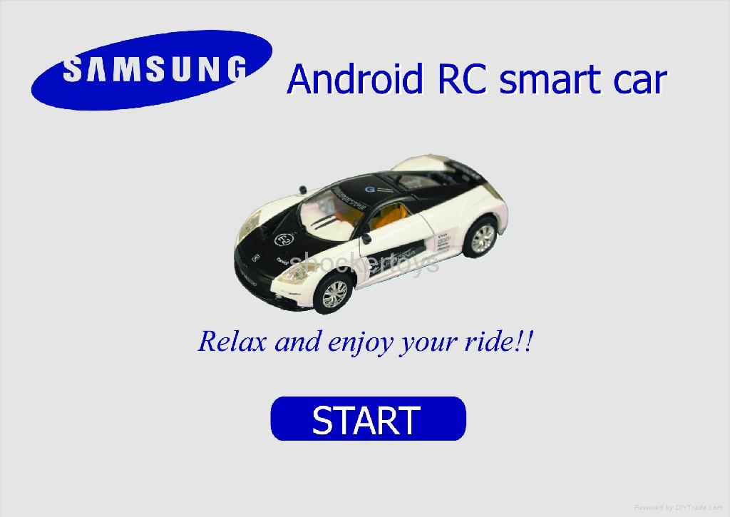 Android Mobile Remote Control Car