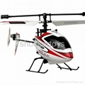 2.4G rc helicopter & remote with LCD