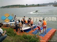 OYYA offer dock for jet ski,floating dock,pontoon