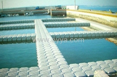 OYYA dock offer plastic pontoon,jet ski dock, HDPE floatation,floating cube
