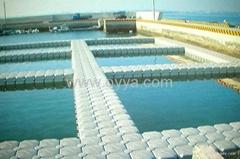 OYYA dock offer plastic pontoon,jet ski dock, HDPE floatation,floating cube
