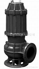 优纳特WQ系列无堵塞潜水排污泵