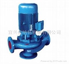 优纳特GW系列无堵塞管道式排污泵