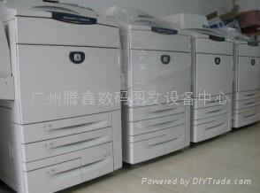 二手富仕施樂彩機DCC8000 4