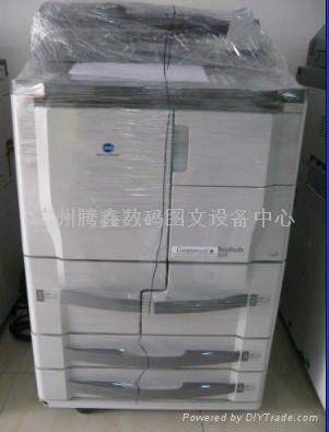 二手柯尼卡美能达黑白高速印复印机 3