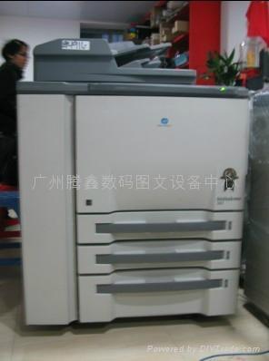 二手柯美920生产型高速黑白复印机 2