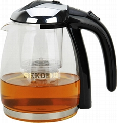 High Borosilicate Glass Tea Kettle 800
