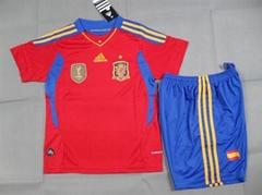 2012 new style children sport jerseys/football jerseys/soccer jerseys