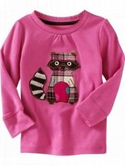 2012 new design baby t-shirt