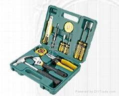 金马12件家用组合工具箱