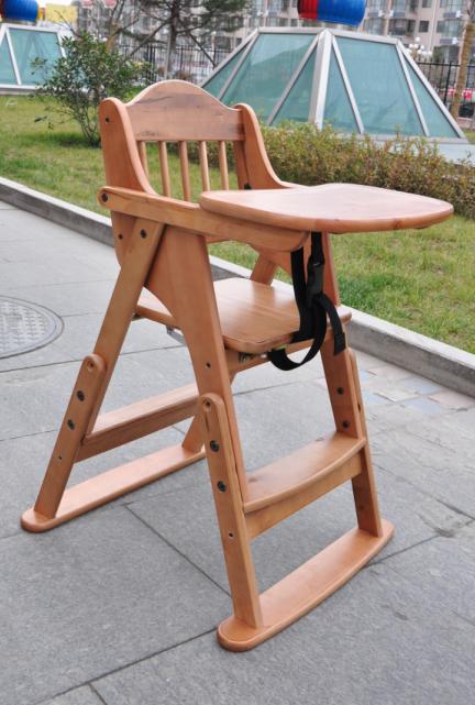 婴儿实木餐椅