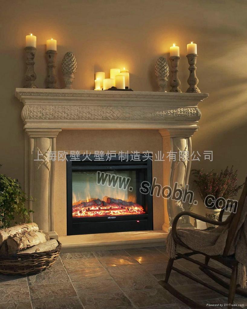 欧式电壁炉 - 上海市 图片