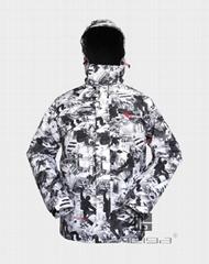 戶外休閑滑雪運動服裝