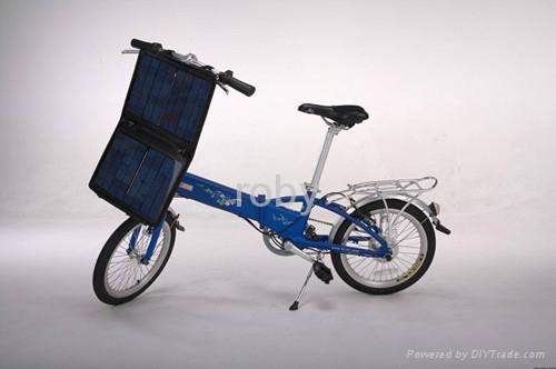 Electric Folding Bike with Folded Size of 831 x 367 x 654mm, 6061 Alloy Frame, E